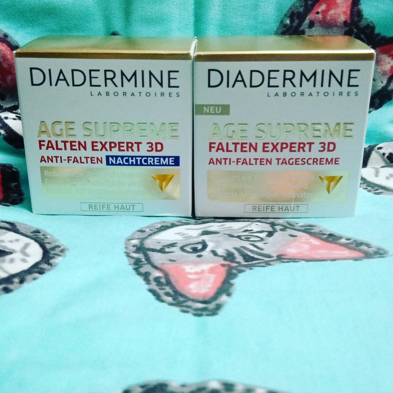 Kem dưỡng da giảm nếp nhăn Diadermine 3D