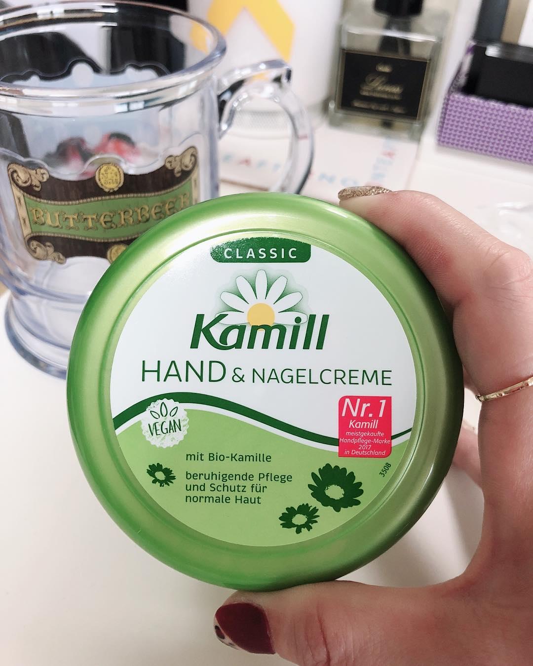 Kem dưỡng tay và móng tay Kamill