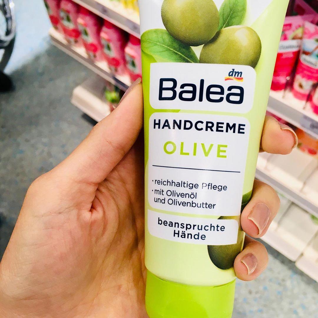 Kem dưỡng tay Balea oliu