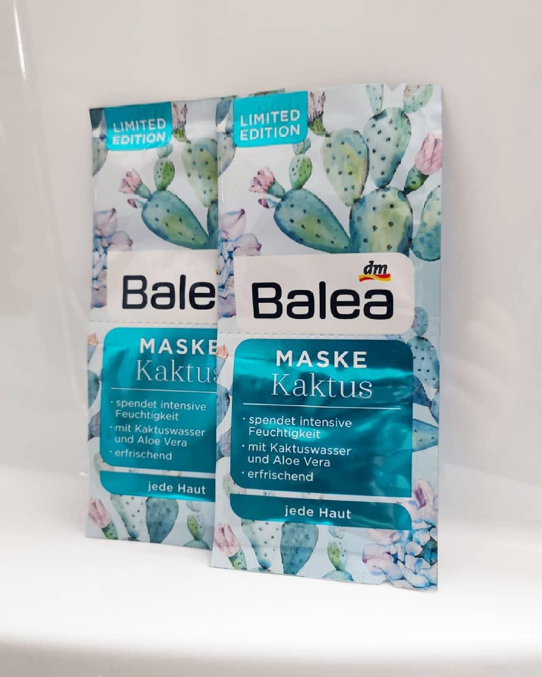 Mặt nạ Balea dưỡng ẩm chiết xuất từ nước cây xương rồng