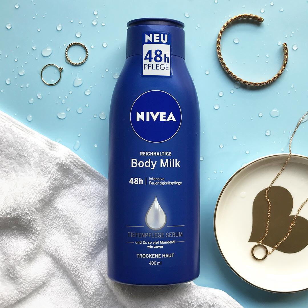Sữa dưỡng thể Nivea cho da khô