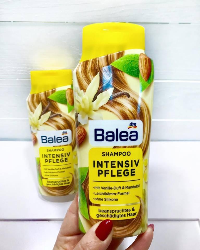 Dầu gội Balea hương vani dành cho tóc hư tổn