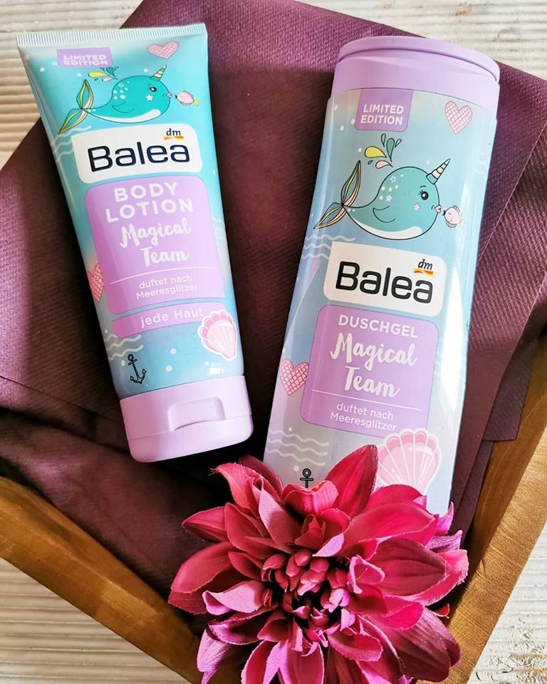 Combo 1 dưỡng thể + 1 sữa tắm Balea hương biển
