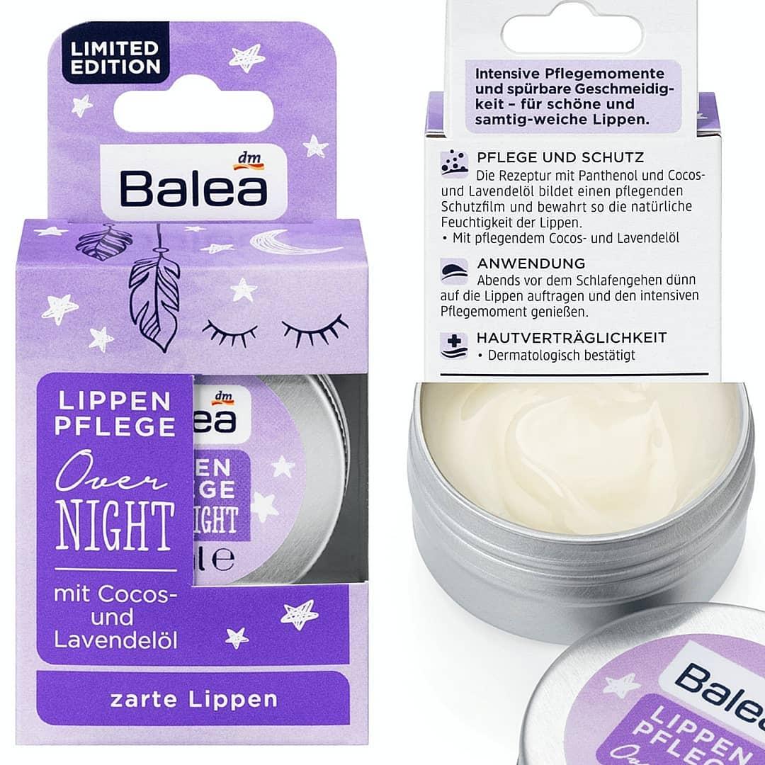 Sáp dưỡng môi ban đêm Balea hương hoa oải hương