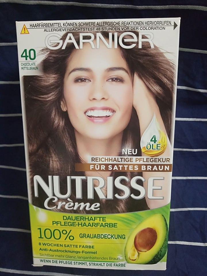 Thuốc nhuộm tóc Garnier Mã : 40 - nâu socola