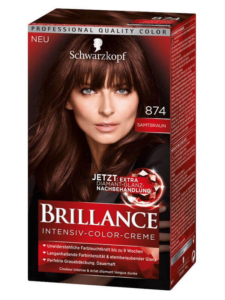Thuốc nhuộm tóc Brillance Số 874 - nâu nhung