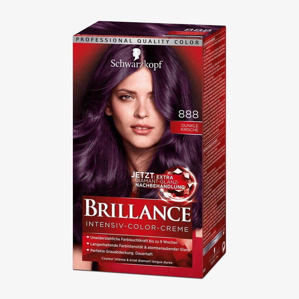 Thuốc nhuộm tóc Brillance - Số 888- tím