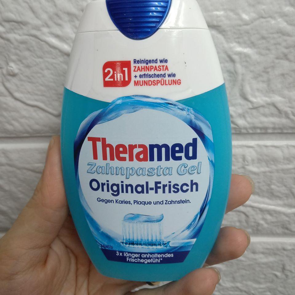 Kem đánh răng Theramed 2in1 thơm miệng