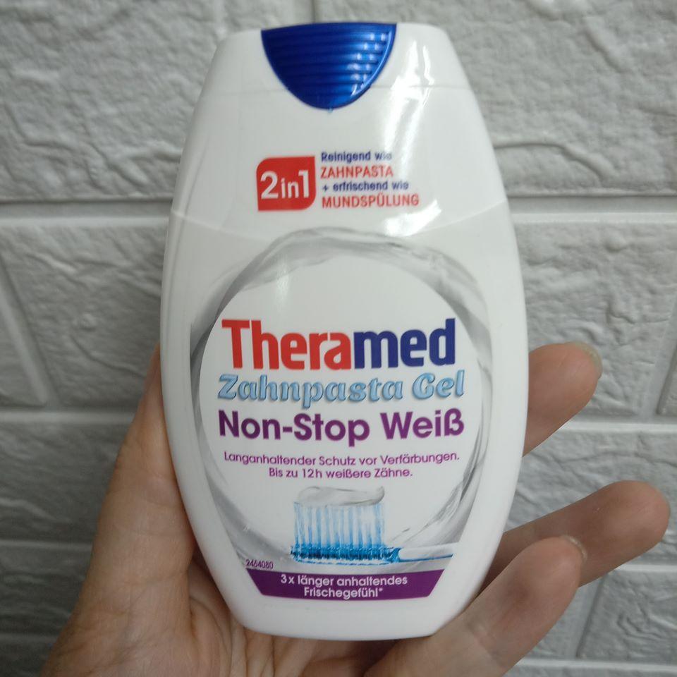 Kem đánh răng Theramed 2in1 trắng răng