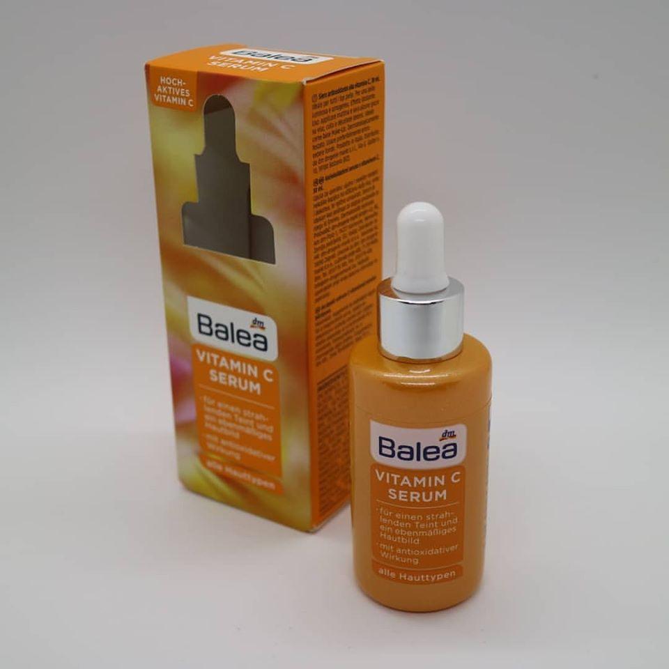 Serum dưỡng trắng da Balea Vitamin C