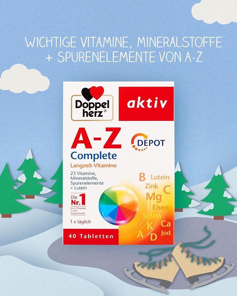 Tpcn bổ sung Vitamin tổng hợp A-Z