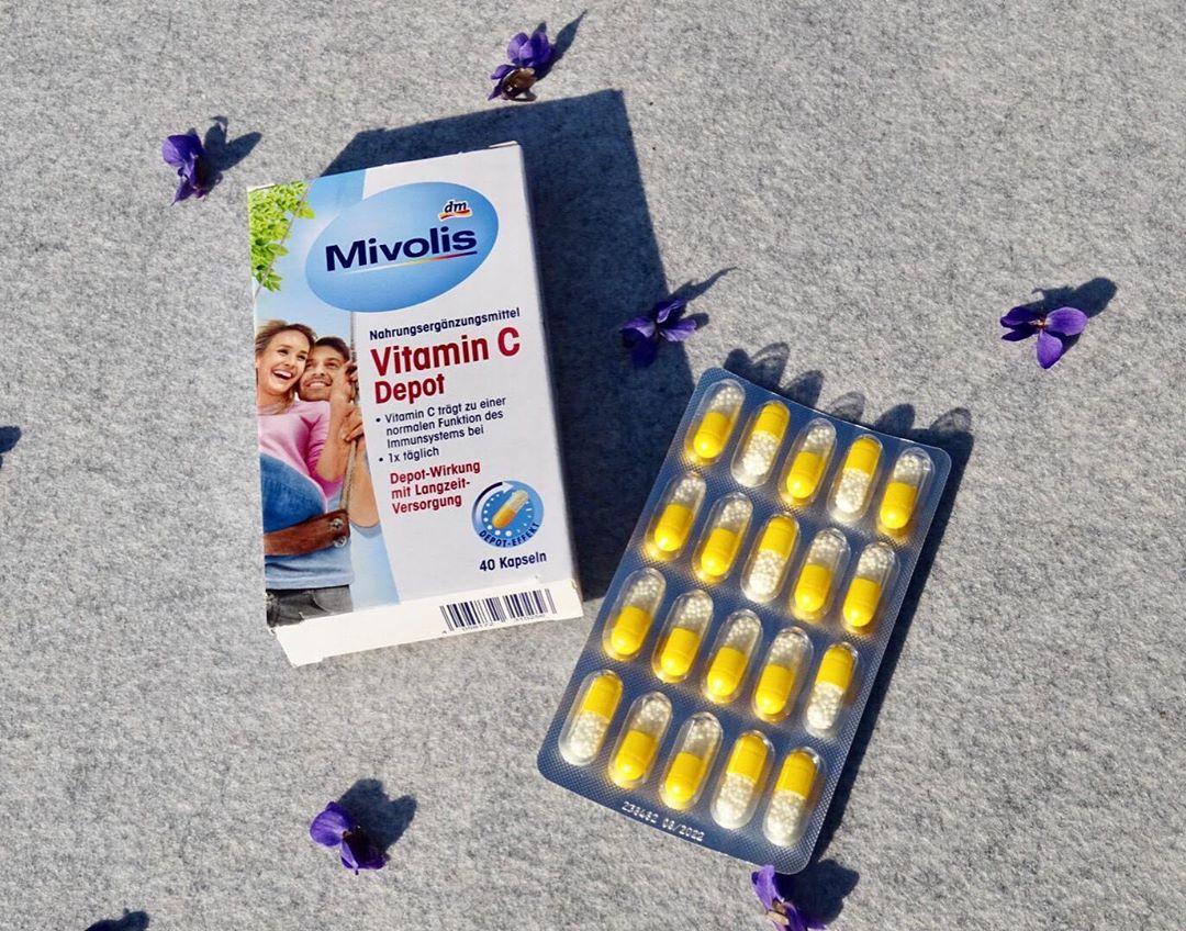 Viên uống bổ sung Vitamin C Mivolis