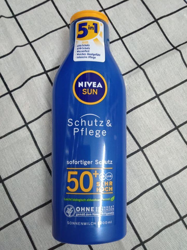 Kem chống nắng Nivea Đức SPF 50+