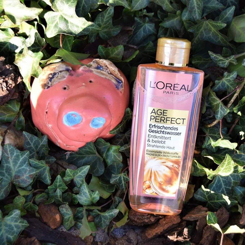 Nước hoa hồng Loreal giảm nếp nhăn và làm trắng da