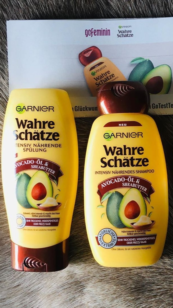 cặp gội xả Garnier bơ dành cho tóc khô và hư tổn