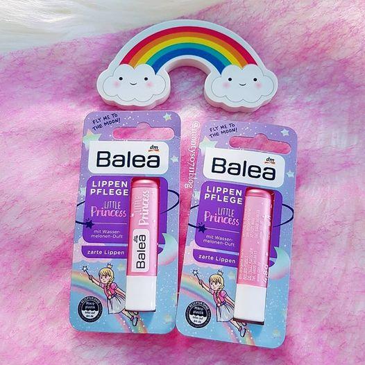 Son dưỡng môi ko màu Balea trẻ em