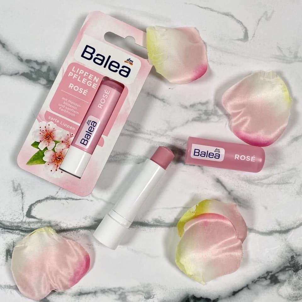 Son dưỡng môi ko màu Balea hoa hạnh nhân