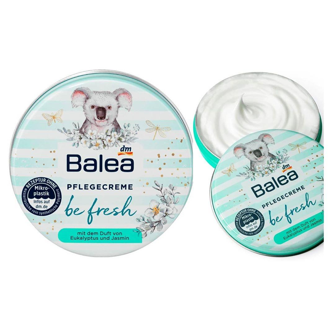 Kem dưỡng ẩm cơ thể, mặt và môi Balea