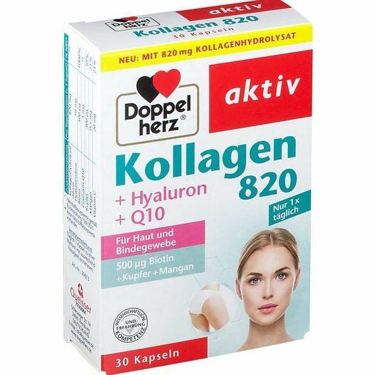 Tpcn bổ sung Collagen Doppel Herz giúp đẹp da