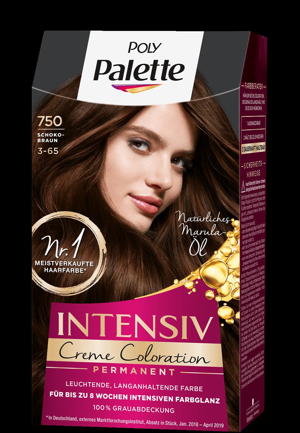 thuốc nhuộm poly palette mã 750 nâu socola