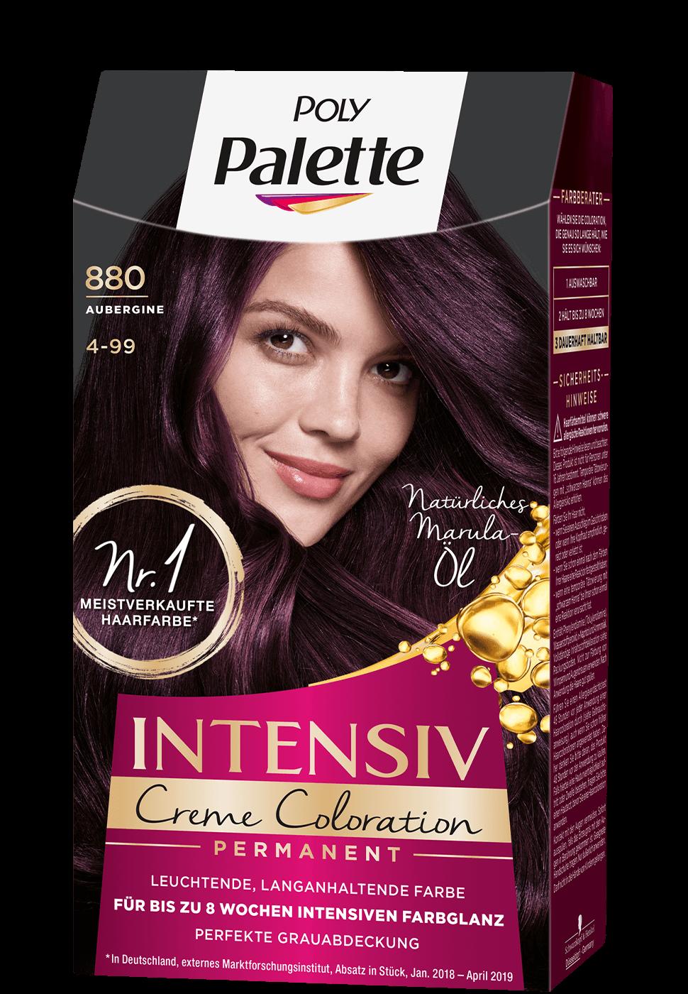 Thuốc nhuộm tóc Poly Palette mã 880 tím đậm