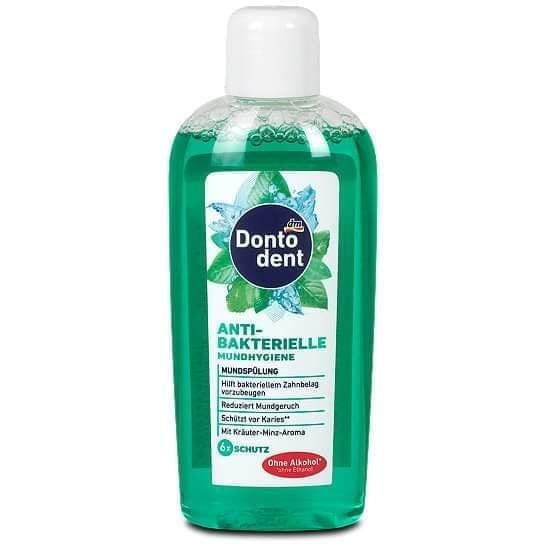 Nước xúc miệng kháng khuẩn Dontodent